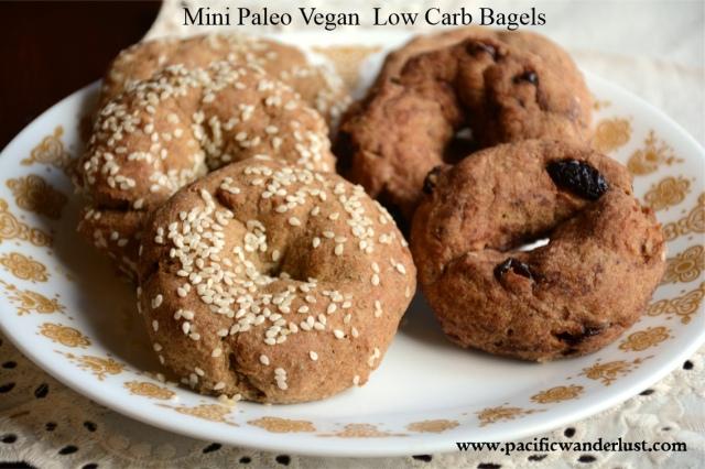 Mini Bagels #thm #paleo #vegan #lowcarb #lowstarchdiet