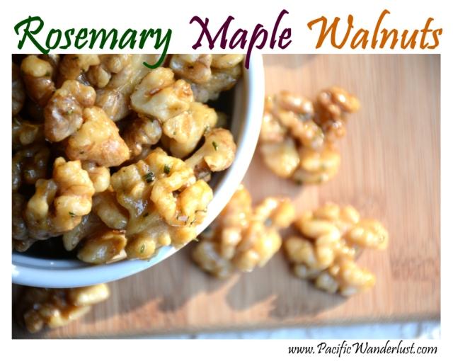Rosemary Maple Walnuts (paleo/vegan)   Pacific Wanderlust